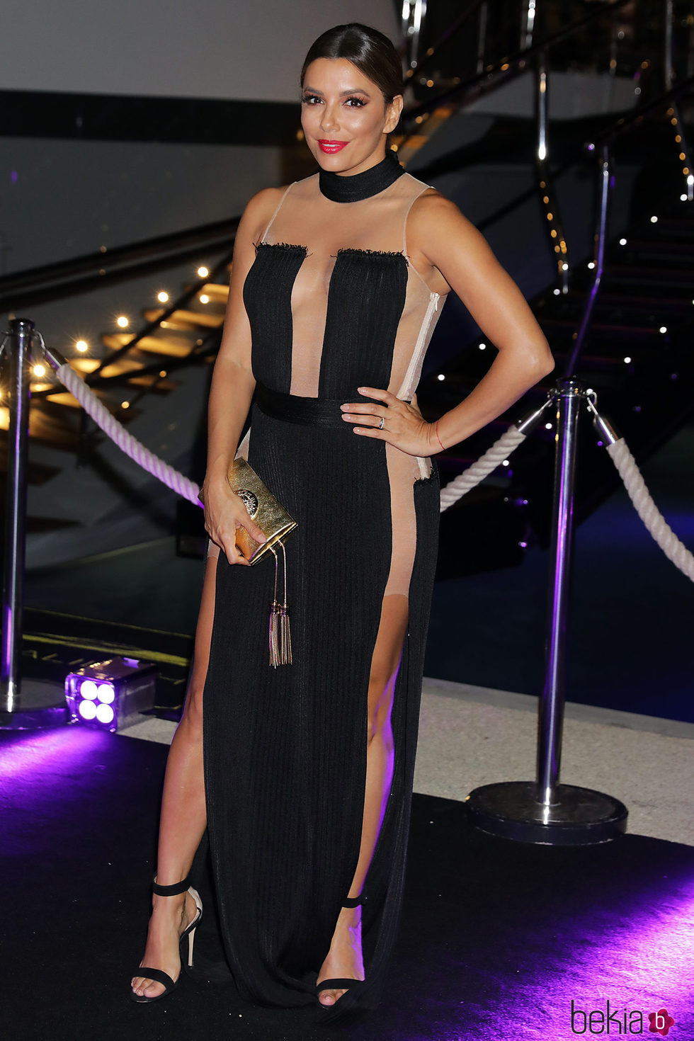 Eva Longoria en la fiesta de L'Oreal en Cannes 2017