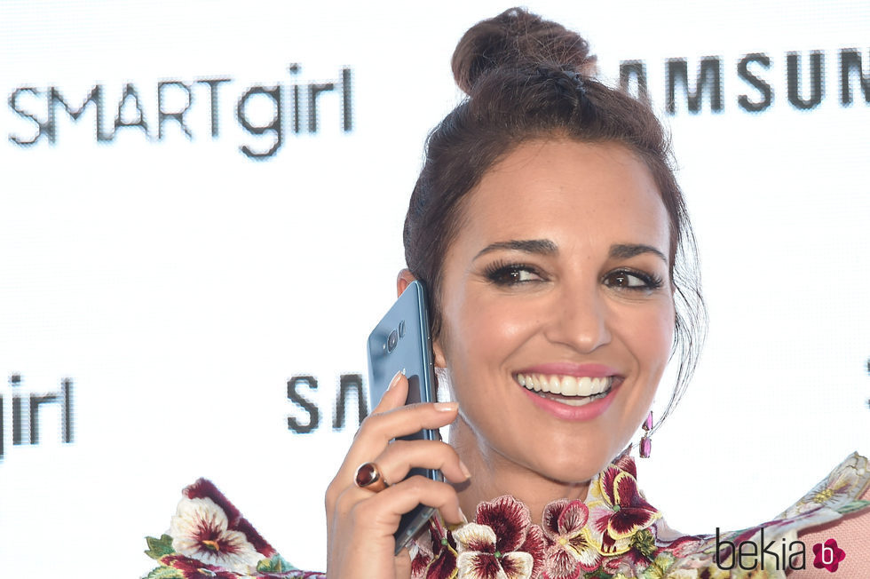 Paula Echevarria en el proyecto Samsung Smart Girl