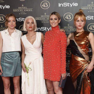 Blanca Suarez, Angela Cremonte, Ana Fernández y Maggie Civantos en la fiesta organizada por InStyle