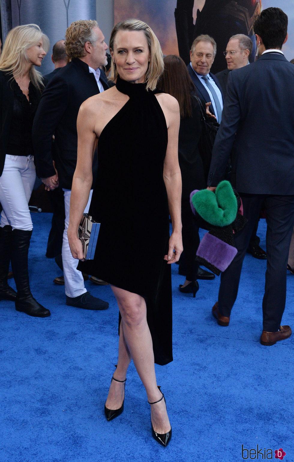 Robin Wright en el estreno de 'Wonder Woman' en Los Angeles