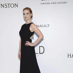 Jessica Chastain en la Gala amfAR del Festival de Cannes 2017