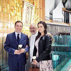 Cristian Castro con su nueva mujer Carol Victoria
