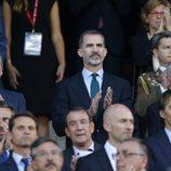 El Rey Felipe en la final de la Copa del Rey 2017