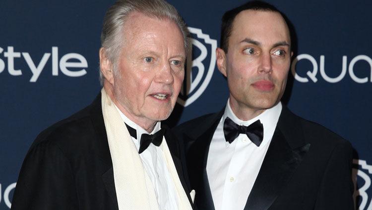 James Haven y su padre el actor Jon Voight