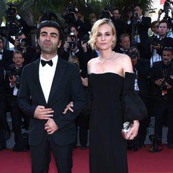 Diane Kruger y Fatih Akin en la gala de clausura de Cannes 2017