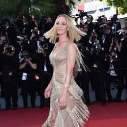 Uma Thurman en la gala de clausura de Cannes 2017