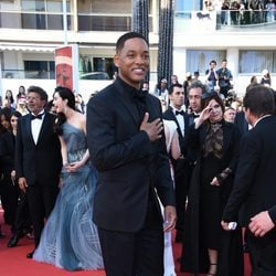 Will Smith en la gala de clausura de Cannes 2017