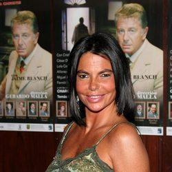 Leticia Sabater con el pelo negro en 2006