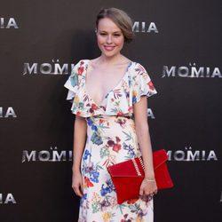 Esmeralda Moya en la presentación de 'La Momia' en Madrid