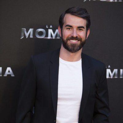Daniel Muriel en la presentación de 'La Momia' en Madrid