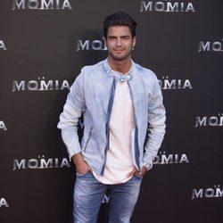 Maxi Iglesias en la presentación de 'La Momia' en Madrid