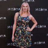 Topacio Fresh en la presentación de 'La Momia' en Madrid