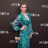 Natalia Rodríguez en la presentación de 'La Momia' en Madrid