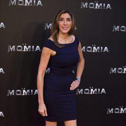 Paz Padilla en la presentación de 'La Momia' en Madrid
