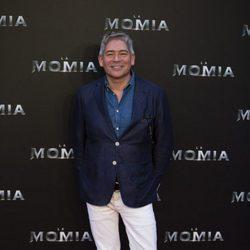 Boris Izaguirre en la presentación de 'La Momia' en Madrid