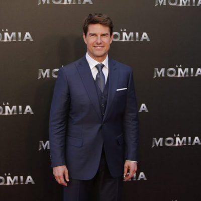 Tom Cruise en la presentación de 'La Momia' en Madrid