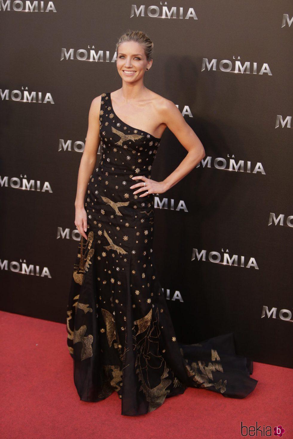 Annabelle Wallis en la presentación de 'La Momia' en Madrid