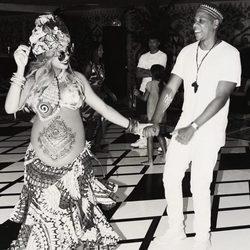 Beyoncé y Jay Z bailan al ritmo africano