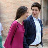 Froilán y Victoria de Marichalar, muy cómplices en los toros en Aranjuez