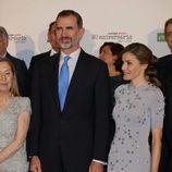 Los Reyes Felipe y Letizia en el 60 aniversario de Europa Press