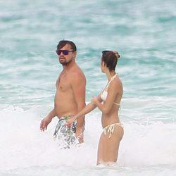 Leonardo DiCaprio con Nina Agdal de vacaciones en México