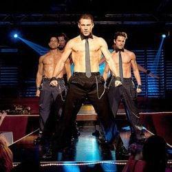Channing Tatum, Matt Bomer y Adam Rodriguez en 'Magic Mike'