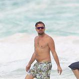 Leonardo DiCaprio en sus vacaciones en México