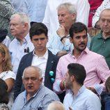 Froilán en los toros a pocos metros del Rey Juan Carlos