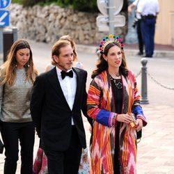 Andrea Casiraghi y Tatiana Santo Domingo en los MCFW Fashion Awards 2017
