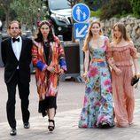 Andrea Casiraghi, Tatiana Santo Domingo, Beatrice Borromeo y Alexandra de Hannover en los MCFW Fashion Awards 2017