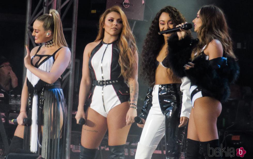 Little Mix en el concierto benéfico One Love Manchester