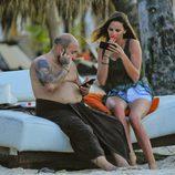 Kiko Rivera e Irene Rosales se relajan en Punta Cana