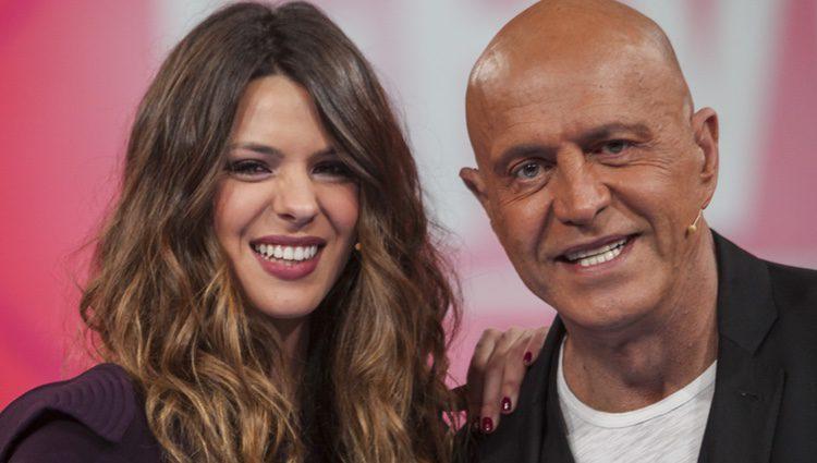 Laura Matamoros y su padre, Kiko, en Gran Hermano VIP 4