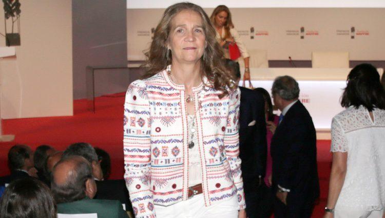 La Infanta Elena en los Premios Fundación Mapfre