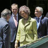 La Reina Sofía tras la entrega de los Premios Fundación Mapfre