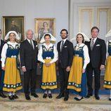 La Familia Real Sueca en el Día Nacional de Suecia 2017