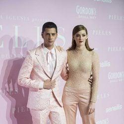 Eduardo casanova y Ana Polvorosa en la Premiere de 'Pieles'