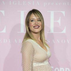 Marta Larralde luciendo embarazo en la Premiere de 'Pieles'
