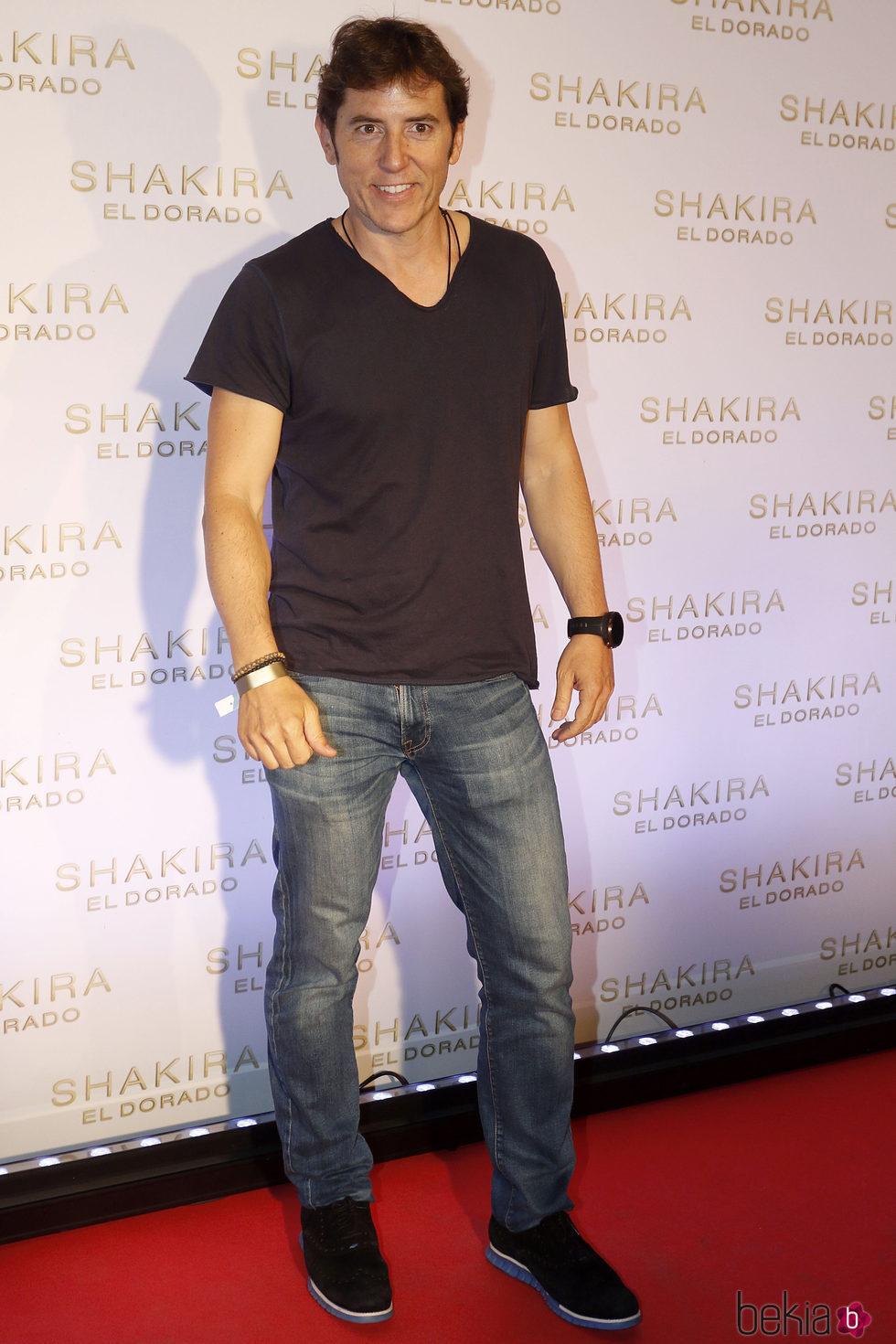 Manel Fuentes en la presentación del nuevo disco de Shakira, 'El Dorado'
