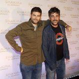 Estopa en la presentación del nuevo disco de Shakira, 'El Dorado'