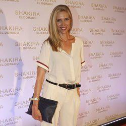 Judit Mascó en la presentación del nuevo disco de Shakira, 'El Dorado'