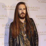 Carlos Sadness en la presentación del nuevo disco de Shakira, 'El Dorado'