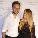 Ivan Rakitic y Raquel Mauri en la presentación del nuevo disco de Shakira, 'El Dorado'