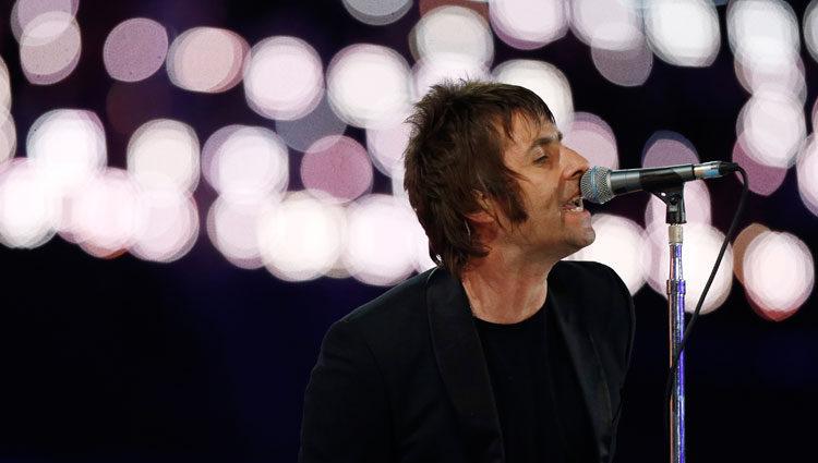Liam Gallagher en los Juegos Olímpicos de Londres
