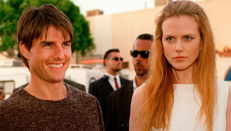 Nicole Kidman y Tom Cruise paseando su amor
