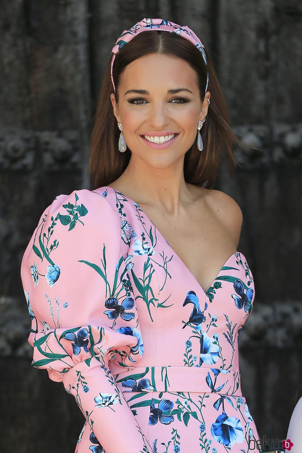 Paula Echevarría espectacular en la Primera Comunión de su hija Daniella