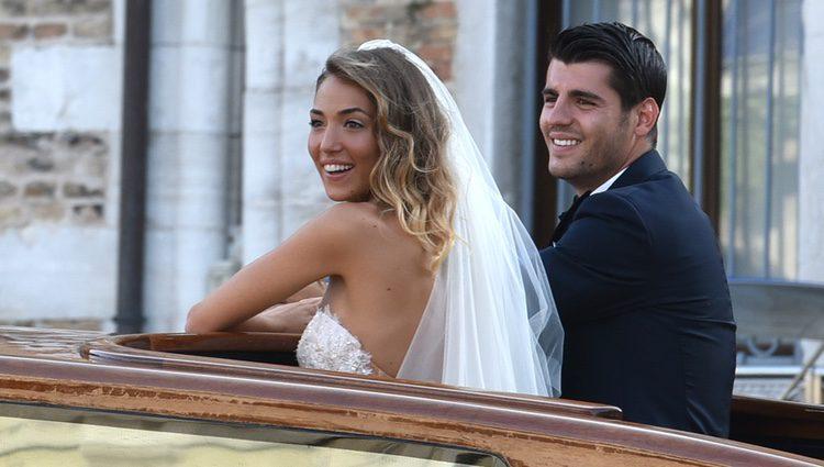 La increíble boda veneciana de Álvaro Morata y Alice Campello