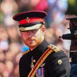 El Príncipe Harry en la tradicional Trooping The Colour