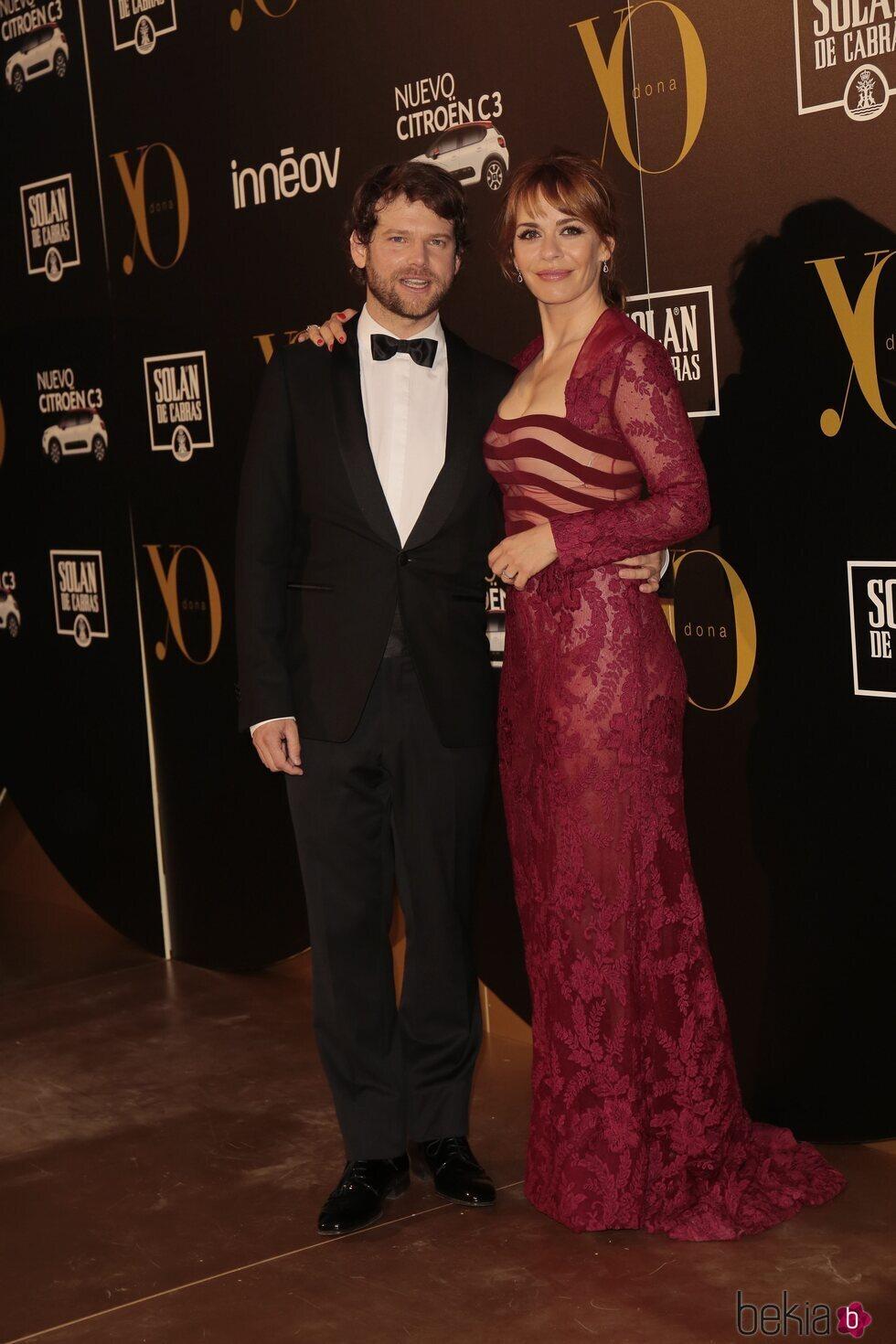 María Adánez y Nacho Medrano en los Premios Yo Dona Internacional 2017
