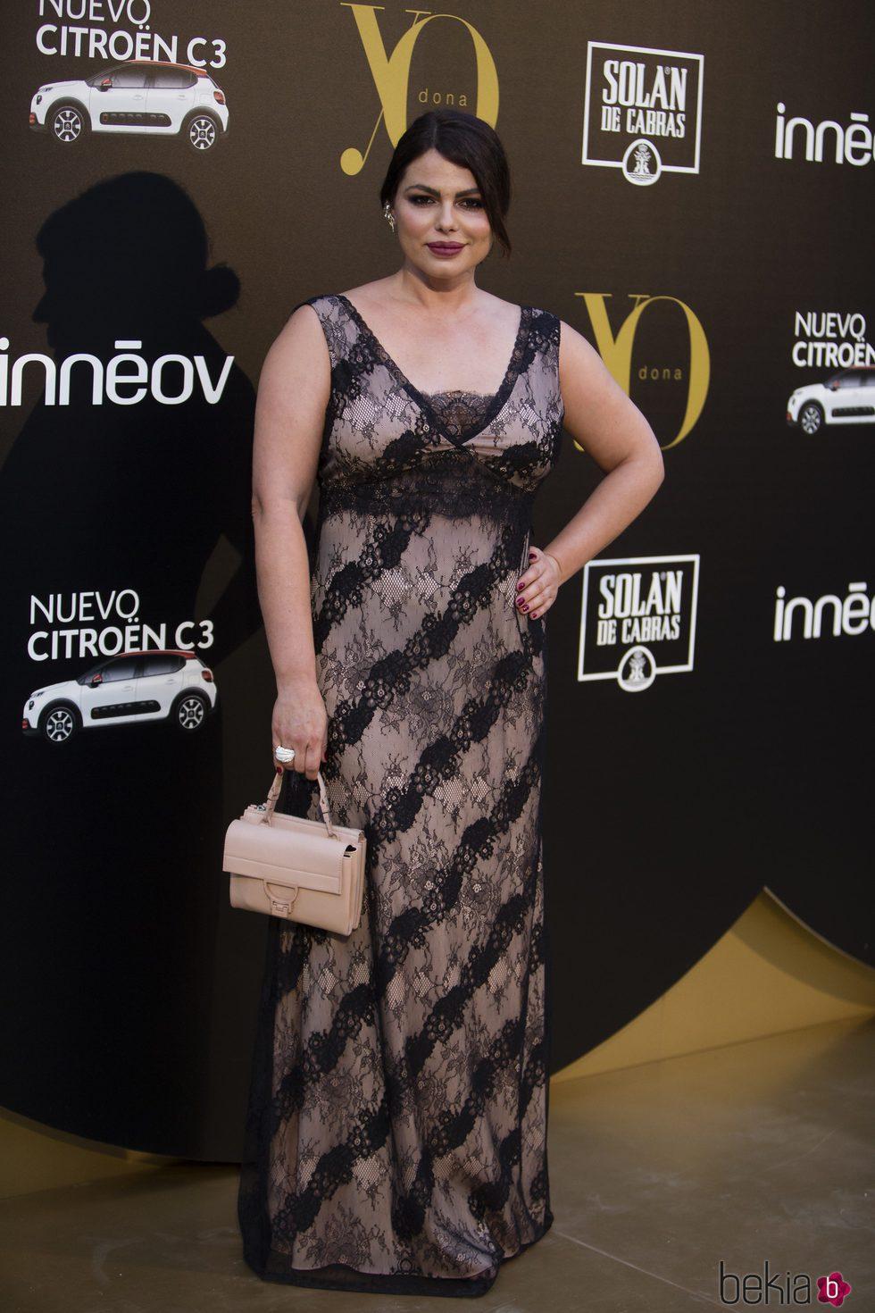 Marisa Jara en los Premios Yo Dona Internacional 2017